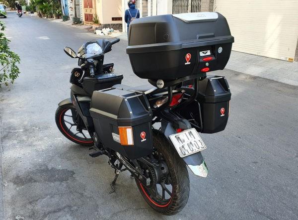 thùng sau xe máy Givi